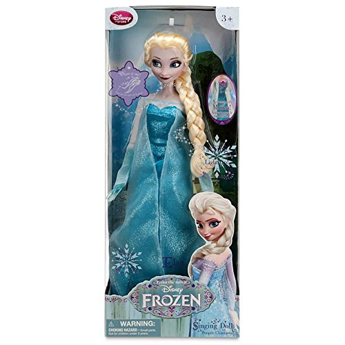 Frozen Singing Elsa Doll with Musical Snow Wand