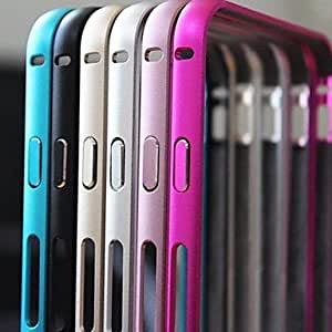 SHOUJIKE Arc Aluminum Bumper Frame Case for iPhone 6 Plus (Assorted Colors) , Purple