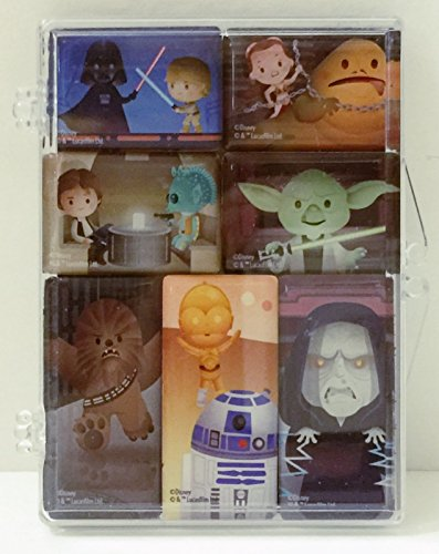 Disney WonderGround Star Wars May the Force Be With You Magnets Jerrod - Gift California Disneyland Shop