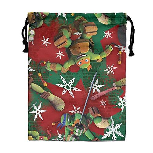 FOODE Teenage Mutant Ninja Turtles Marry Christmas Drawstring Backpack Sack - Christmas Oakley Sale
