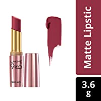 Lakme 9 to 5 Primer Matte Lip Color, Maroon Mix MR18, 3.6g
