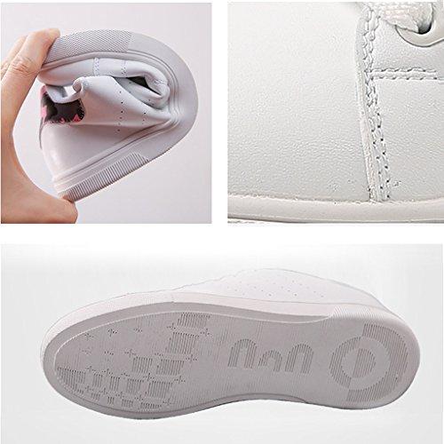 Basses de Chaussures Baskets Chaussures Black Respirantes étudiants Occasionnels Plates Skateboard féminins rétro 8qqwnUzd