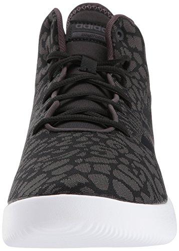 Adidas Neo Donna Cf Aggiornamento Mid W Scarpa Da Basket Nero / Nero / Grigio Traccia