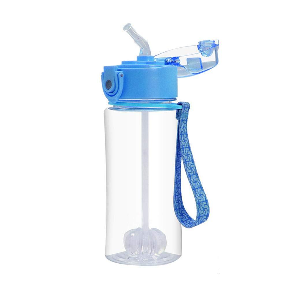 Schule Sunneey Trinkflasche 360ml Fahrrad Auslaufsicher Thermosflasche mit Stroh Laufen Sport f/ür Kinder Fitness