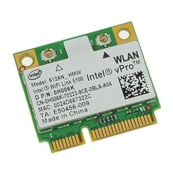 Mini Tarjeta Wifi Intel vPro Wifi Link 5100 0H006K 512AN_HMV ...
