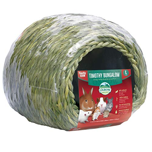 Oxbow Animal Health Timothy Hay Bungalow - Large