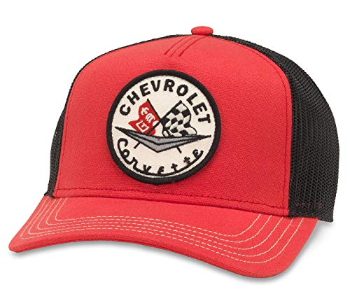 (American Needle Valin Chevrolet Corvette Trucker Hat)