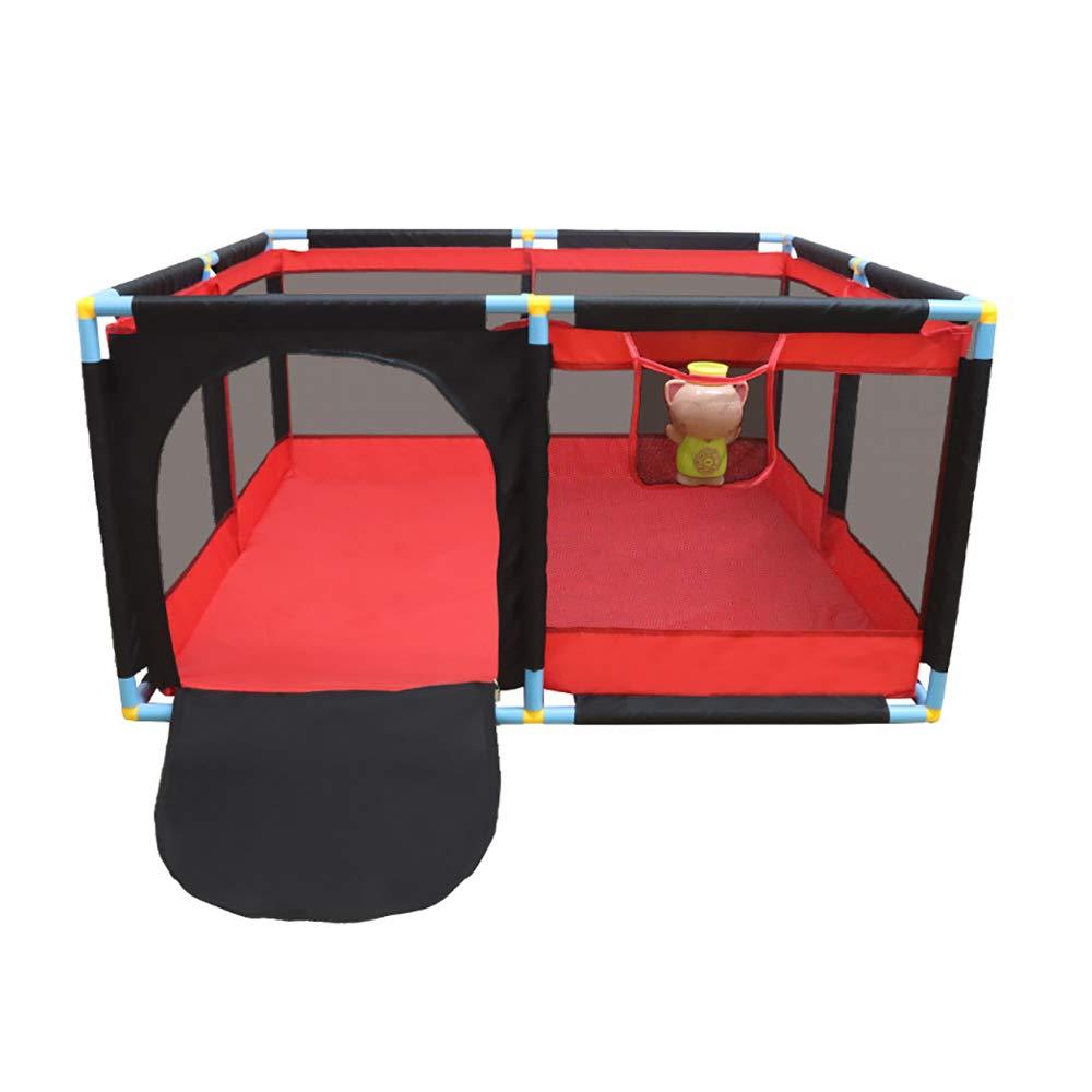 室内の赤ちゃんのPlaypens幼児のフェンスの赤ちゃんのクロールマット家庭用のボールのプールのおもちゃの子供のアンチ秋の保護フェンス128×128×66cm / 190×128×66cm (サイズ さいず : 128×128×66cm) 128×128×66cm  B07KKKRPNZ