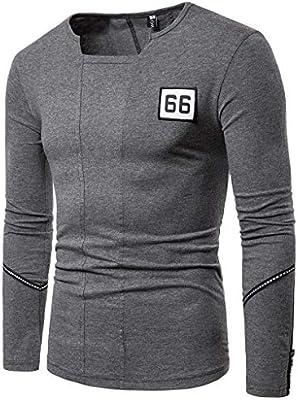 ZODOF camisa hombre camisas sport Casual Pure Color algodon manga ...
