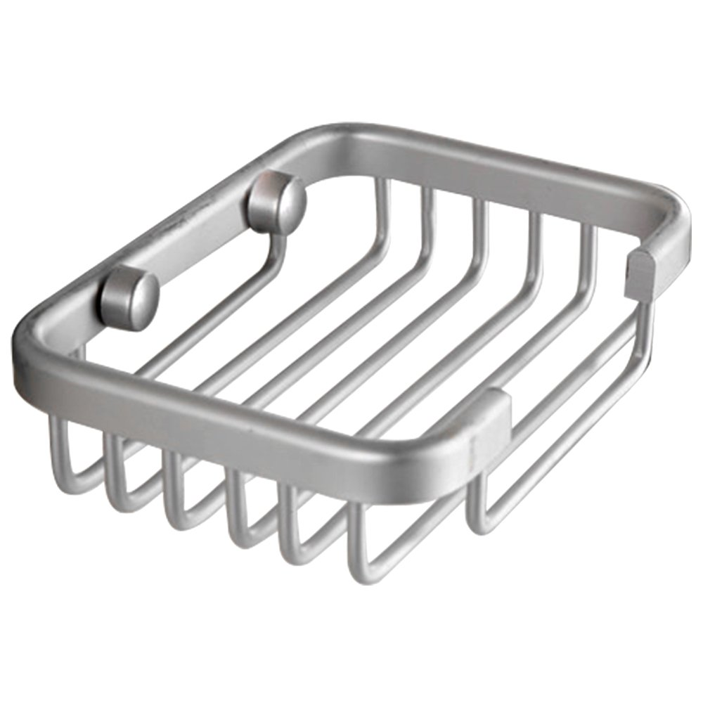 Amazon.com: Aluminum Soap Dish Bathroom Shower Toilet Soap Holder Saver  Basket Wall Mounted By Generic: Home U0026 Kitchen