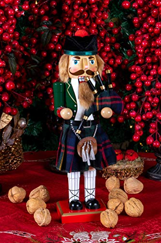 """Scottish Soldier Nutcracker by Clever Creations 
