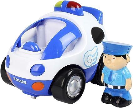 DUCKTOYS Dessin Animé Télécommande Voiture De Police 2