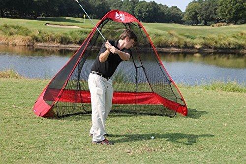 Rukket 10x7ft Pop Up Golf Net | Orginal Rukknet | Practice Driving Indoor and Outdoor | Backyard Swing Training Aids by Rukket Sports (Image #7)
