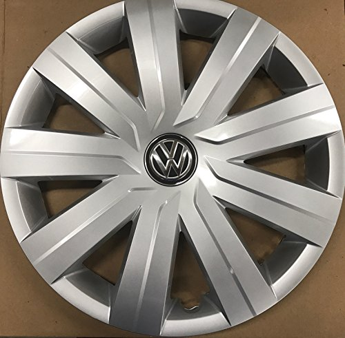 Genuine VW Hub Cap Jetta 2015-2016 9-spoke Wheel Cover Fits 15-inch Wheel