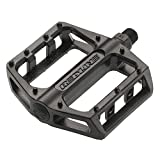 "Redline Lo-Profile Alloy Platform Pedals, Loose Ball, 9/16"" Black"