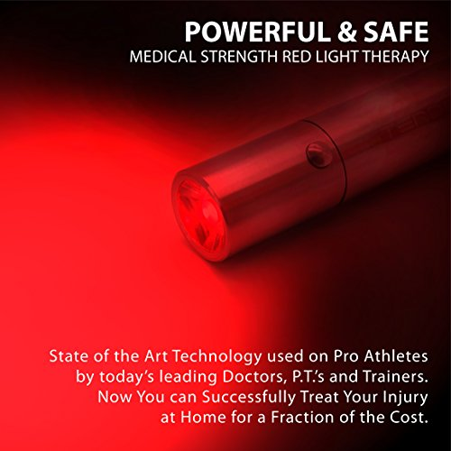Pain Relief Therapy TENDLITE® FDA Cleared Red LED Light Device Joint & Muscle Reliever MEDICAL GRADE Chosen by Sufferers of Knee, Back, Shoulder, Foot & Neck Pain, Arthritis, Neuropathy, Tendonitis...