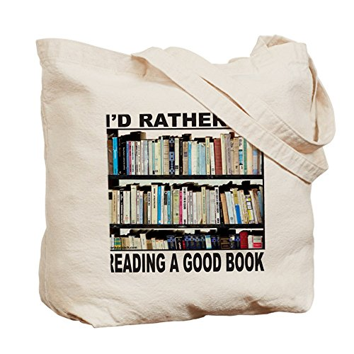 Cloth BOOK Tote Shopping Canvas Bag LOVER Natural Bag CafePress fFBnCqYUC