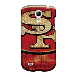 Protective Hard Phone Cases For Samsung Galaxy S4 Mini With Provide Private Custom Attractive San Francisco 49ers Pattern JohnPrimeauMaurice