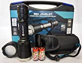 (US) Olight M23 Javelot 1020 Lumen LED Tactical Flashlight M22 Upgrade Edition Two LegionArms CR123 Batteries