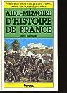 Aide-mémoire d'histoire de France par Berthier (II)