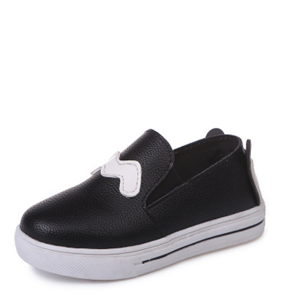 eleganceoo Kids Girls Loafers Flats Shoes Comfort Moccasins Slip On Fashion Sneakers