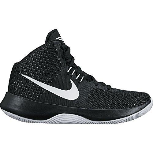 Chaussures De Basket-ball Noir Blanc Nike Air Précision