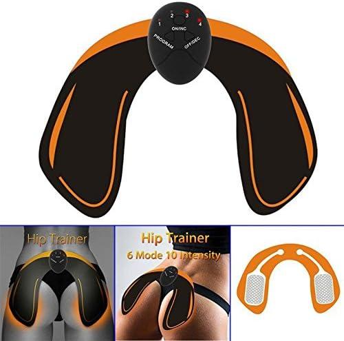 /Electroestimulador Masaje para Gl/úteos/ /15/Niveles de Intensidad/ rassoda Noir y el muscolo DELL Anca/ /L Original Visto en TV /Modella Hips Trainer/