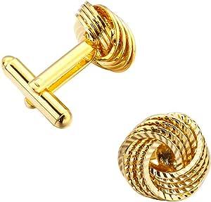 Luxury men's Cufflinks in golden color