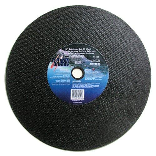 5-Pack Shark Welding Shark 12663 14-Inch by 1//8-Inch by 1-Inch 36-Grit Double Reinforced Cut-Off Wheel