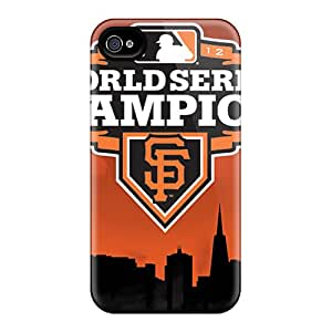 Durable Hard Phone Covers For Iphone 6plus With Custom Stylish San Francisco Giants Series TimeaJoyce