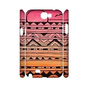 Aztec Tribal Pattern Custom 3D Samsung Galaxy Note3 ,diy phone case ygtg537879