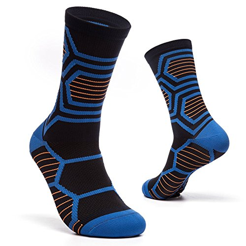 New Compression Socks for Teenagers,BEST Stockings for Runners, Middle Tube Athletic Football Soccer Socks Sport Tube Socks for sale