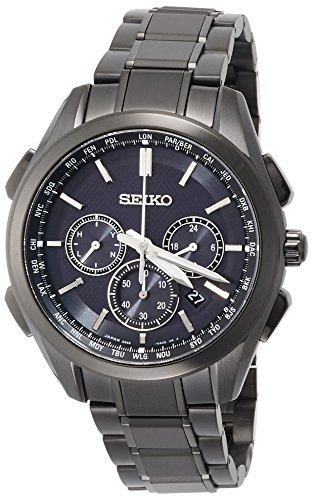 SEIKO BRIGHTZ Men's Watch Solar radio fix Sapphire glass 10 ATM Water resistant SAGA201