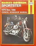img - for Harley-Davidson Sportster Owners Workshop Manual (Haynes motorcycle repair manual series) by J. H. Haynes (1990-05-03) book / textbook / text book