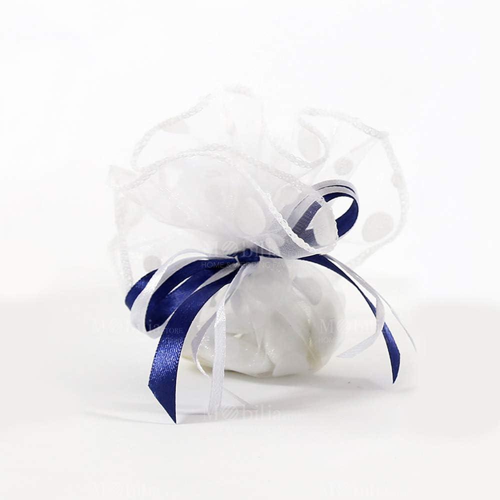 Gudotra 100pcs Sachets Organza Rouges Sac /à Bonbon Pochette Sachet Cadeau pour Anniversaire Mariage Bijoux No/ël Red