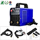 ARC Welder - Welding Machine ARC 200 IGBT Inverter Welder, AC DC 110V 200 AMP Mini Welders With LCD Display Suit 2.5 - 3.2 MM Welding Rod Equipment with Accessories Tools