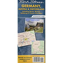 Rick Steves Germany, Austria & Switzerland Planning Map: Including Berlin, Munich, Salzburg & Vienna City Maps