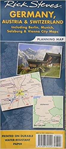 Rick Steves Germany, Austria & Switzerland Planning Map: Including ...