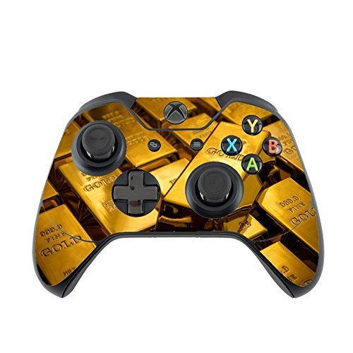 Amazon.com: Gold Bars Xbox One Controller Vinyl Decal ...
