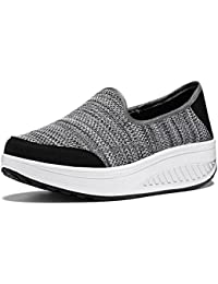 Dormery Handmade Weave Shoes For Women Breathable Casual Shoes Women Slip On Stretch Fabric Braided Shoes Zapatos Mujer