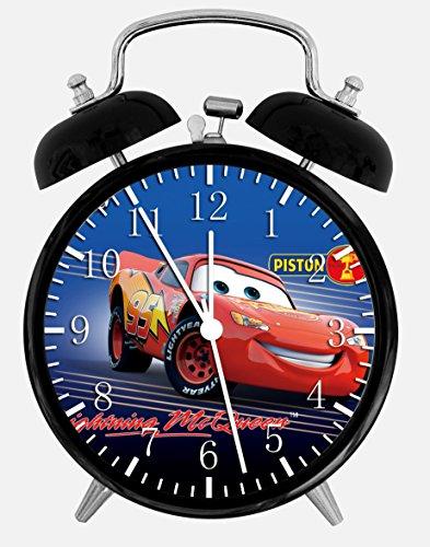 Cars Lightning McQueen Twin Bells Alarm Desk Clock 4