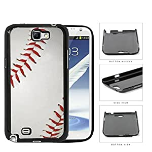 Baseball Close-up Of Red Stitching Hard Plastic Snap On Cell Phone Case Samsung Galaxy Note 2 II N7100