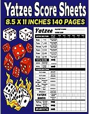 Yatzee Score Sheets: Yatzee Score Pads - Classic Large Print Yatzee Score Pads Vol 4