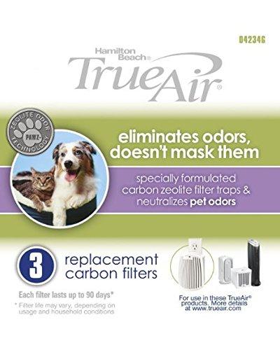 Hamilton Beach TrueAir 04234G Replacement Carbon Filter 6 Pack …