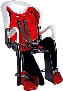 Bellelli TGTR00020 - Portabebé de ciclismo, color blanco/ rojo ...