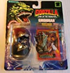 Vintage 1994 Godzilla King of the Monsters Gold Ghidorah Hatched! Miniature Toy by Trendmasters