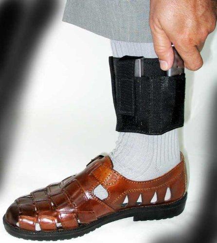 Ankle Holster Magazine Carrier for Concealed Carry | Ankle Carrier for Gun  Magazines, Pocket Knife, Flashlight, Multi-Tool | Leg Carry Pistol Magazine