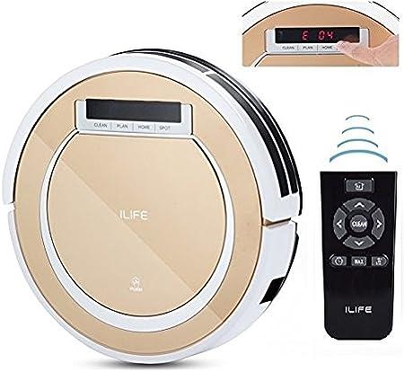 iLife X5 Smart Aspirador Robótico Inteligente Mando a Distancia, 2 en 1 Barrido seco y Fregona Tyrant Gold Enviado Desde ESPAÑA!: Amazon.es: Hogar