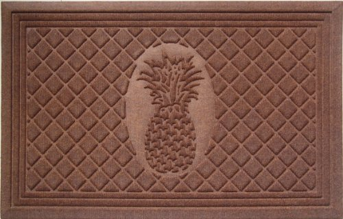 Pineapple Mat - Entryways Pineapple Weather Beater Polypropylene Mat 22