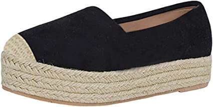 Round Toe Casual Flats Boat Shoes